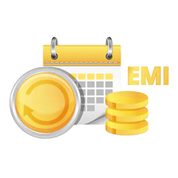 Total EMI amount