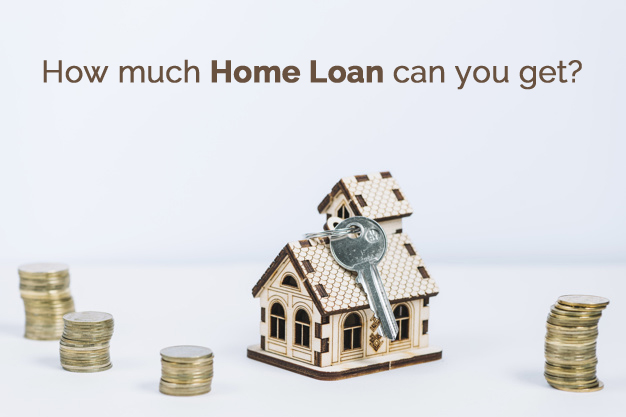 How much home loan can you get?