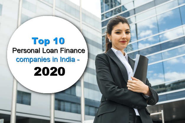 Top 10 Personal Loan Finance companies in India - 2020